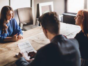 Misslyckas på arbetsintervjun